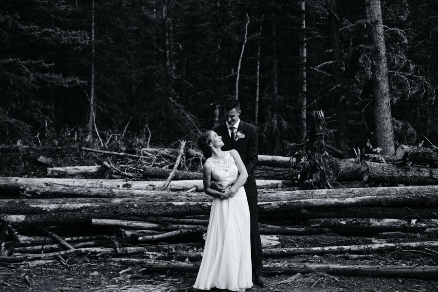 Canadian mountain wedding whitewall photography Adelaide
